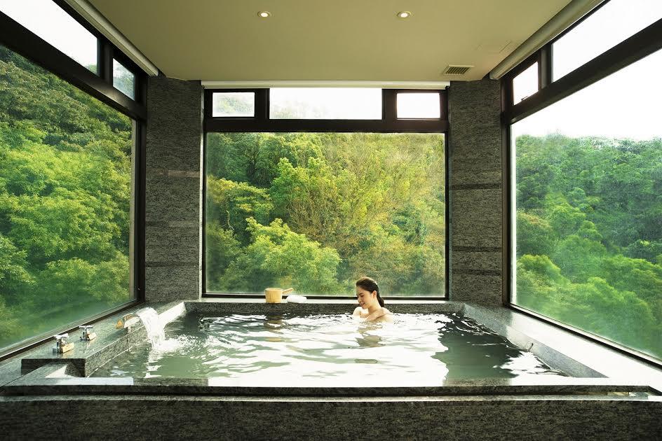 大地酒店 大地套房 270度景觀浴池